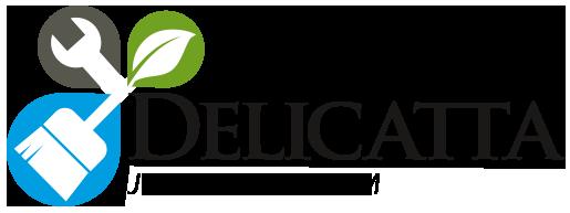 Logo Delicatta Jardinagem